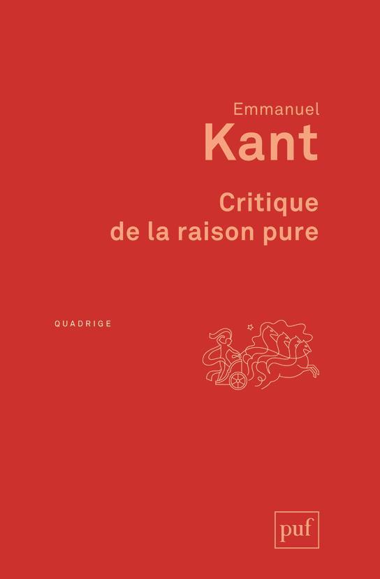 CRITIQUE DE LA RAISON PURE (8ED)