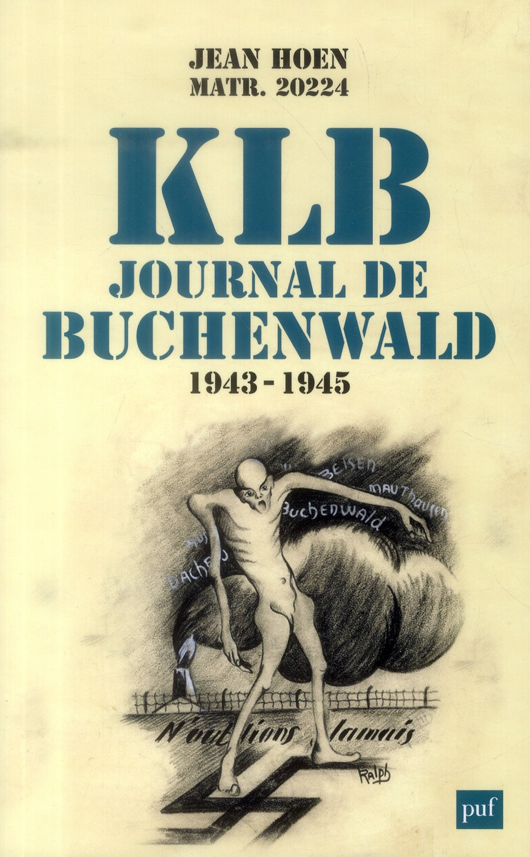 KLB JOURNAL DE BUCHENWALD - 1943-1945