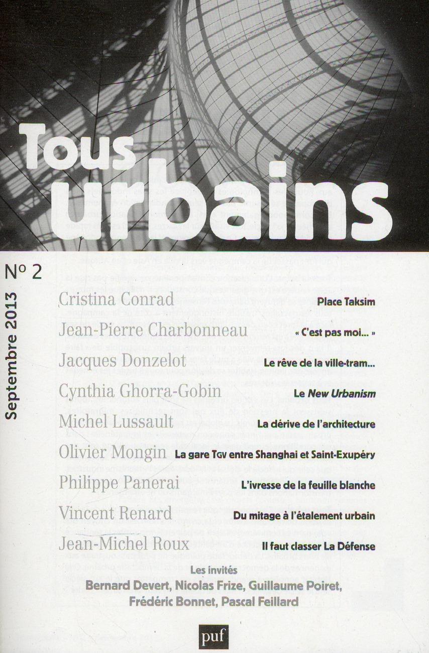TOUS URBAINS N  2 (2013)