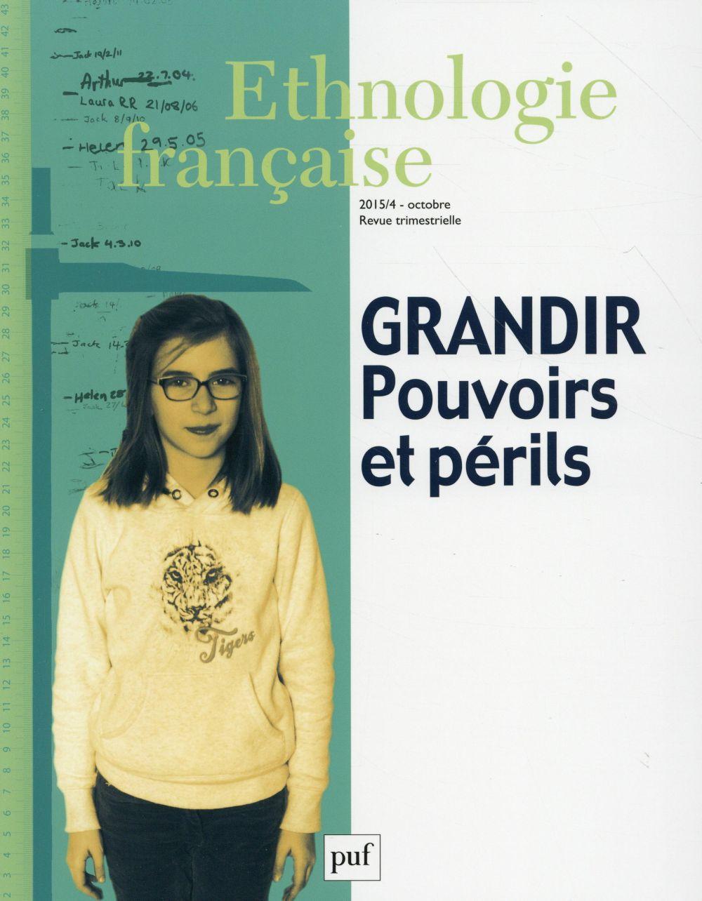 ETHNOLOGIE FRANCAISE 2015 N 4