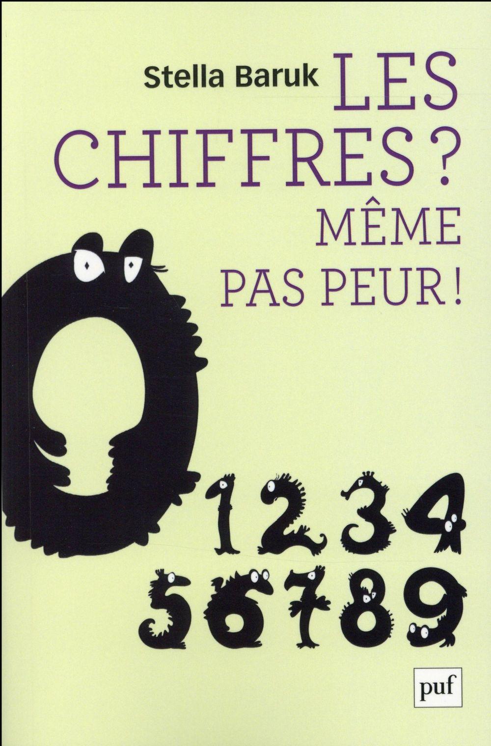 LES CHIFFRES ? MEME PAS PEUR !