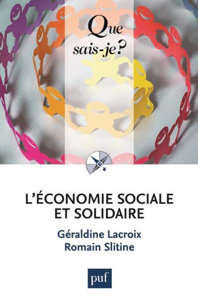 L'ECONOMIE SOCIALE ET SOLIDAIRE QSJ 4070