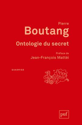 ONTOLOGIE DU SECRET (3ED)