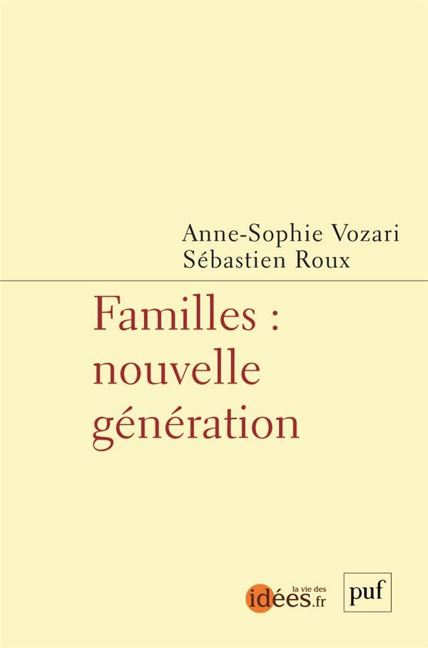 FAMILLES : NOUVELLE GENERATION