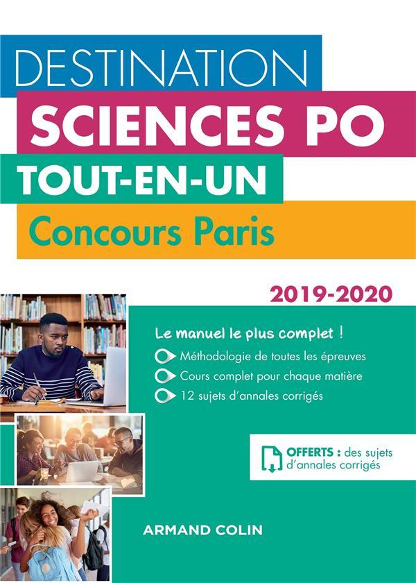 DESTINATION SCIENCES PO - CONCOURS PARIS 2019-2020 - TOUT-EN-UN