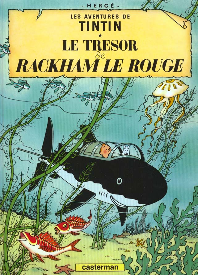 LE TRESOR DE RACKHAM LE ROUGE T12