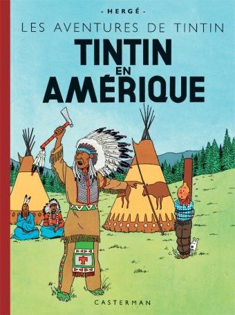 TINTIN EN AMERIQUE - LES FAC-SIMILES COULEURS - T3