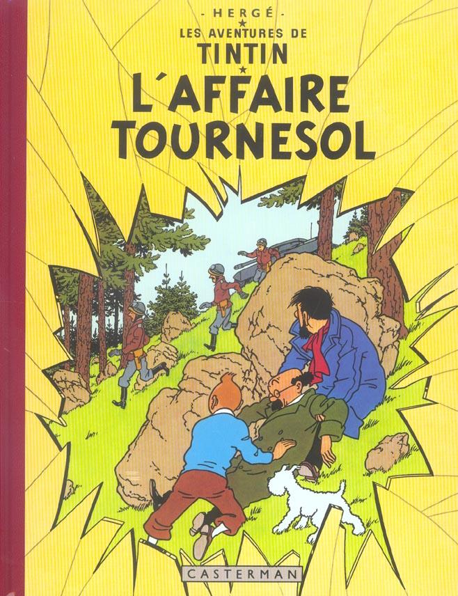 L' AFFAIRE TOURNESOL - FAC-SIMILES COULEURS - T18