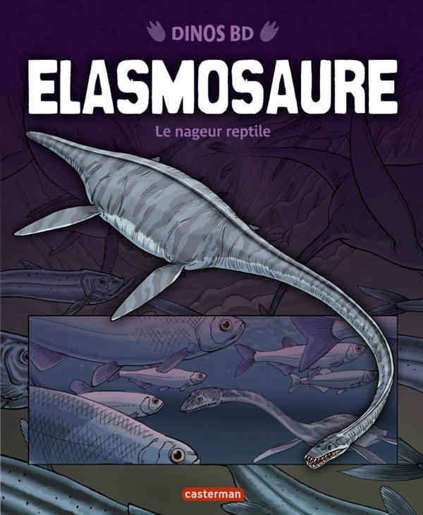 ELASMOSAURE - LE NAGEUR REPTILE