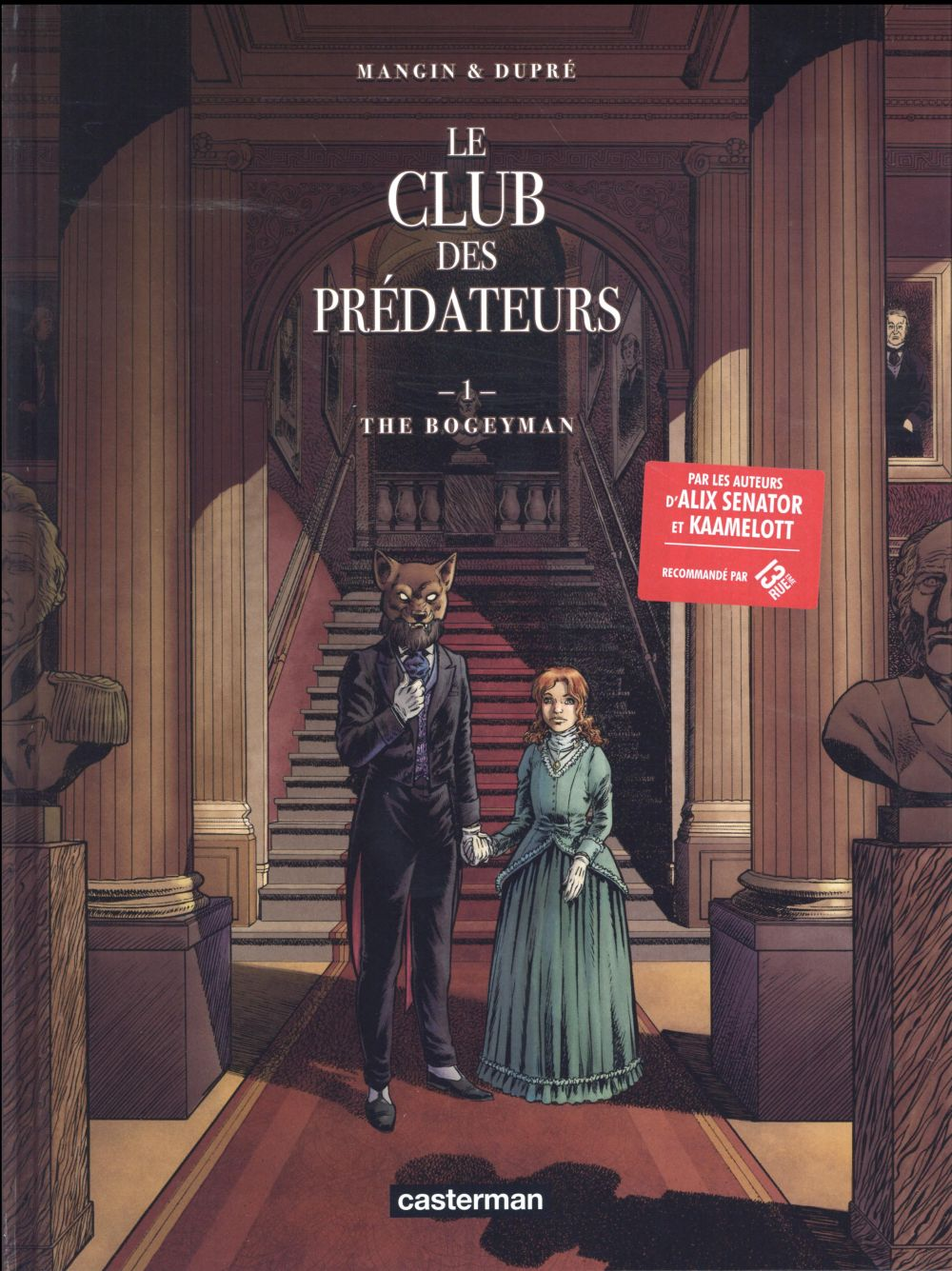 LE CLUB DES PREDATEURS T1 THE BOGEYMAN