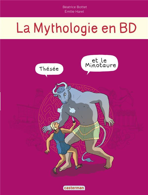 LA MYTHOLOGIE EN BD T4 - THESEE ET LE MINOTAURE
