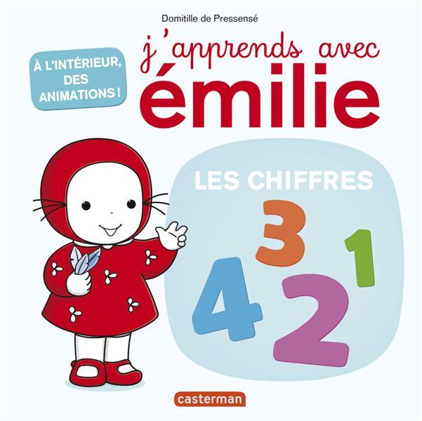 J'APPRENDS AVEC EMILIE T2 LES CHIFFRES