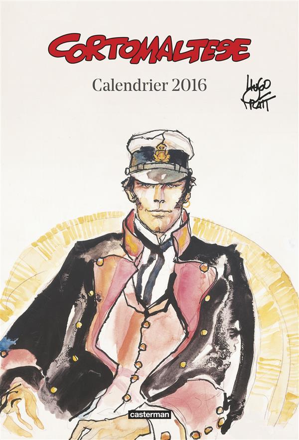 CORTO MALTESE CALENDRIER 2016