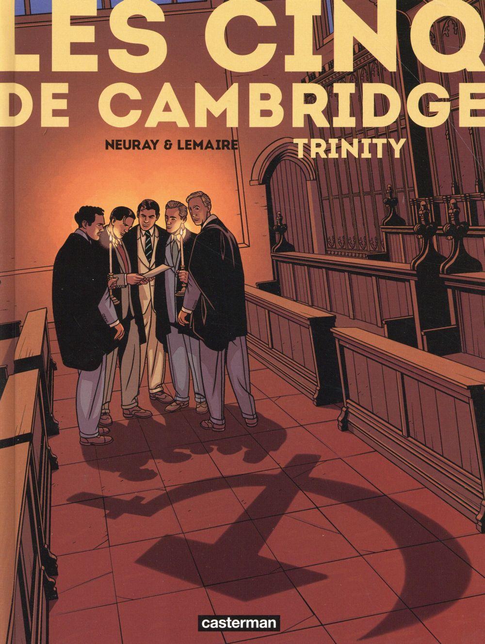 LES CINQ DE CAMBRIDGE T1
