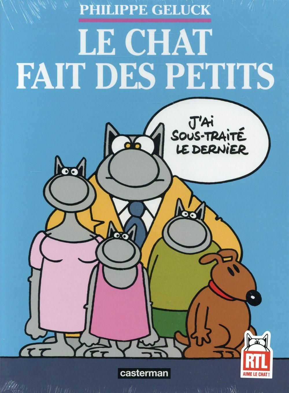 LE CHAT T20 - LE CHAT FAIT DES PETITS (COFFRET 3 VOLUMES)