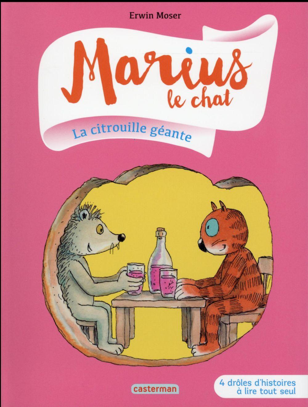 MARIUS LE CHAT T4 LA CITROUILLE GEANTE