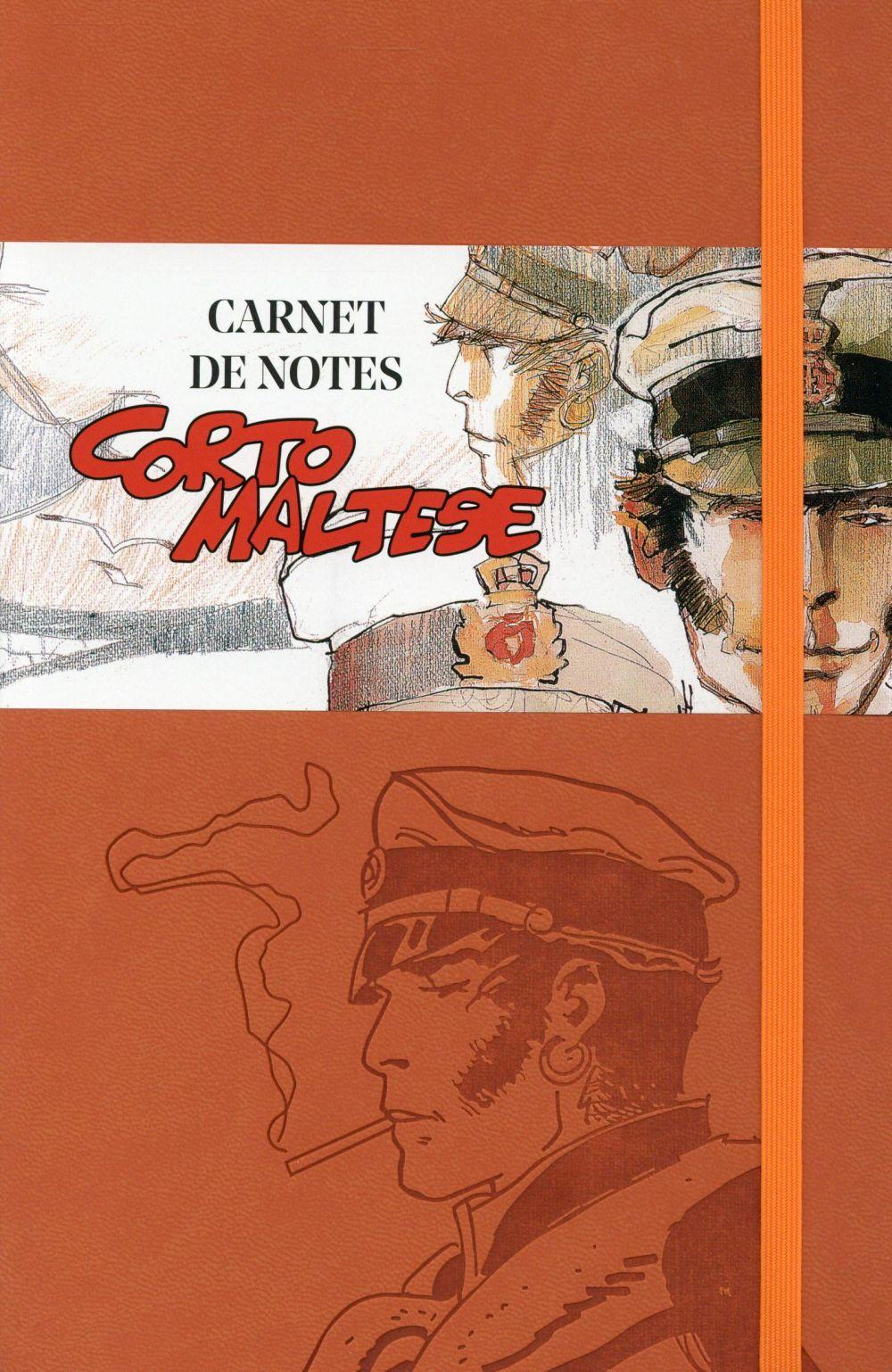 CARNET DE NOTES CORTO MALTESE