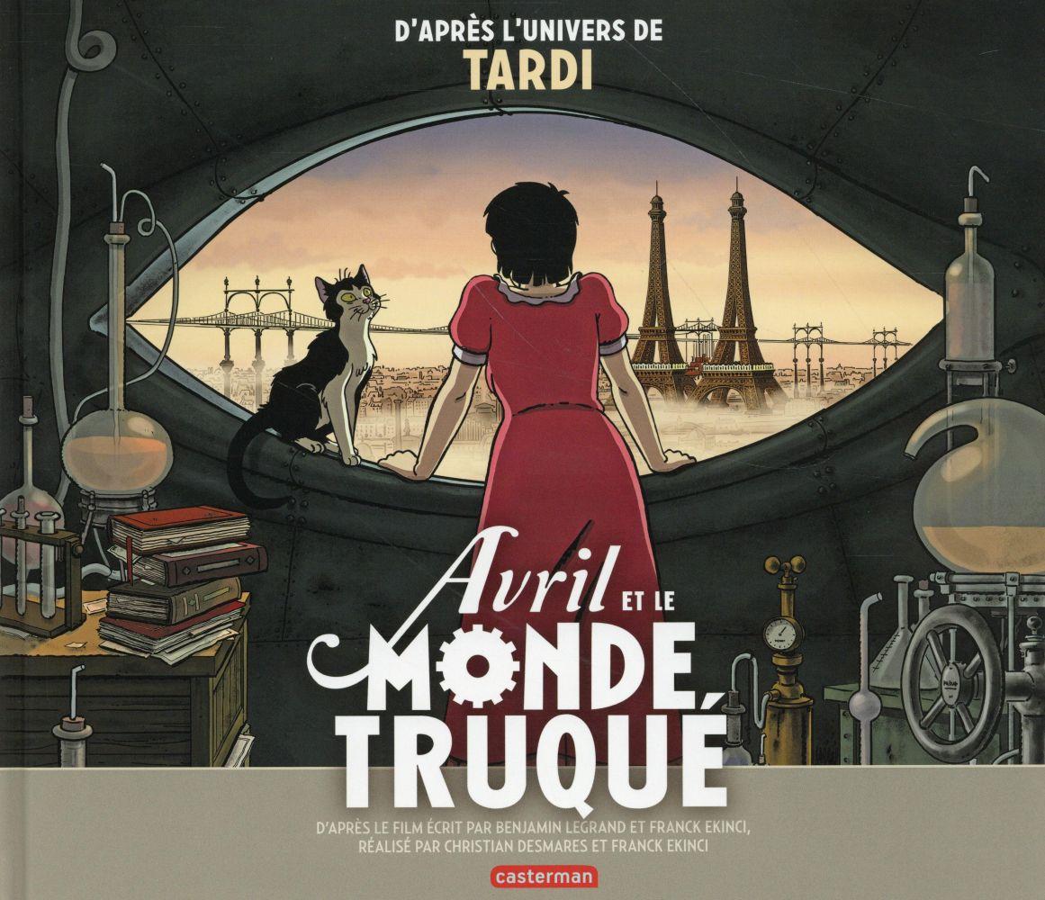 AVRIL ET LE MONDE TRUQUE - ALBUM DU FILM