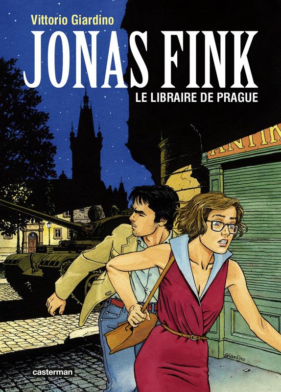JONAS FINK T2 LE LIBRAIRE DE PRAGUE (NOU