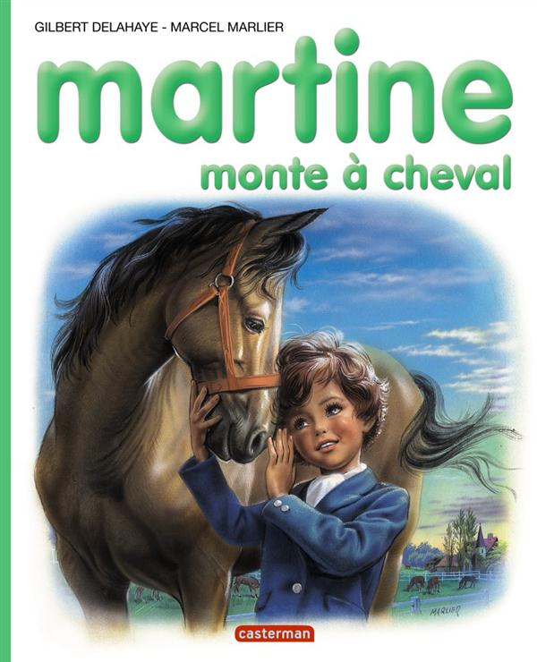 MARTINE MONTE A CHEVAL - ALBUMS - T16