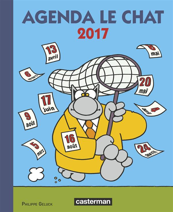 PAPETERIE - AGENDA LE CHAT 2017