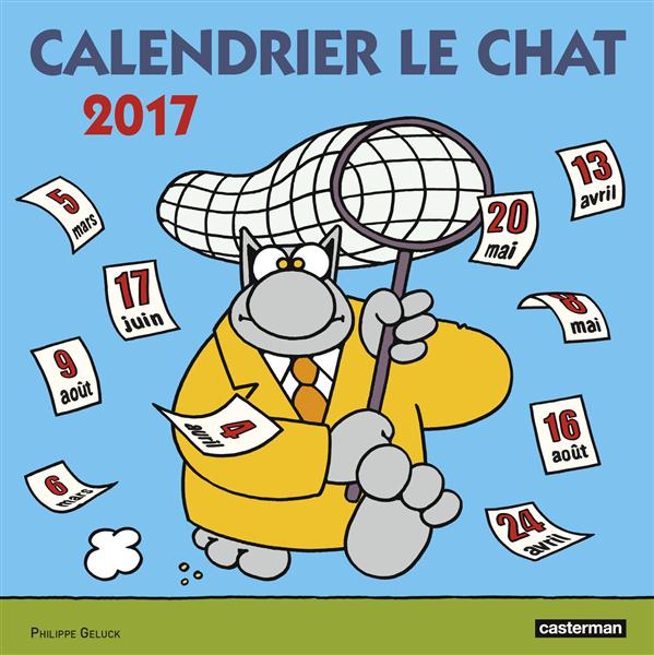 CALENDRIER  LE CHAT 2017