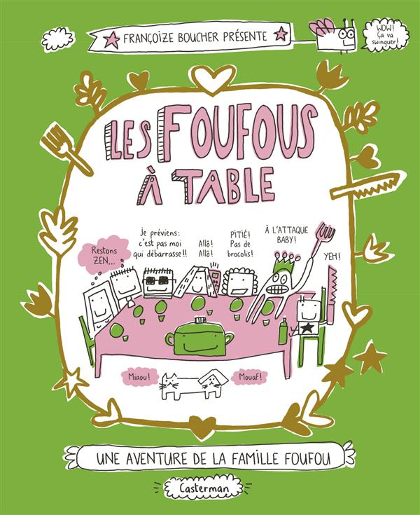 LES FOUFOUS A TABLE - T1