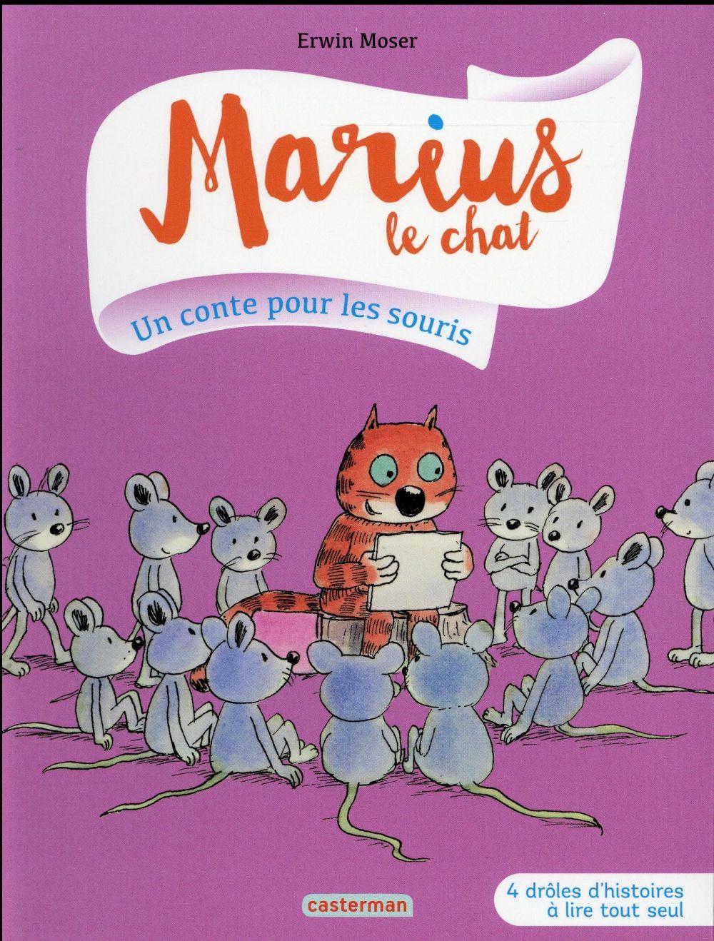 MARIUS LE CHAT T5 UN CONTE POUR LES SOURIS