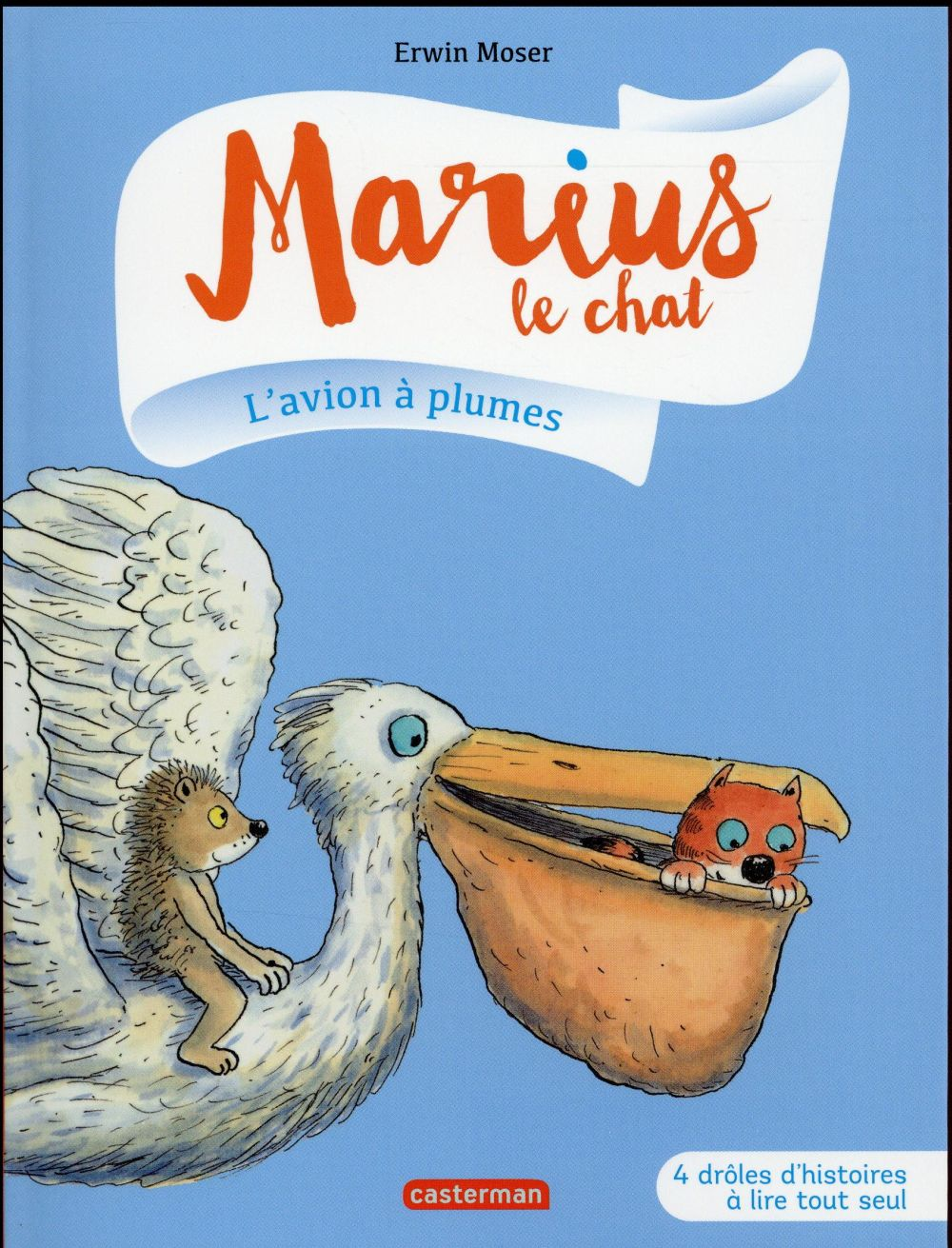 MARIUS LE CHAT T6 L'AVION A PLUMES