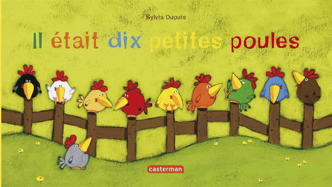 QUEUE LEU LEU T.18 IL ETAIT DIX PETITES POULES