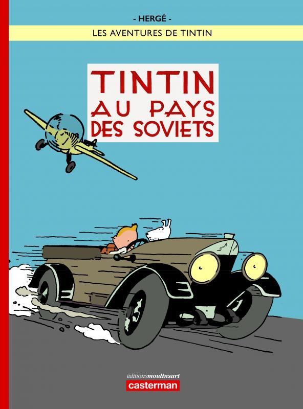TINTIN AU PAYS DES SOVIETS COULEUR