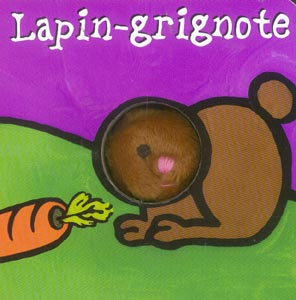 LAPIN GRIGNOTE