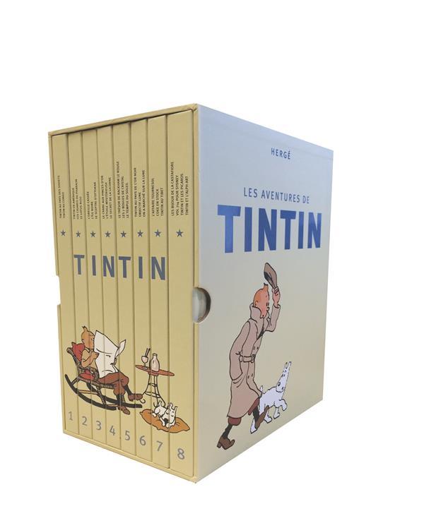 COFFRET INTEGRAL TINTIN (2017)
