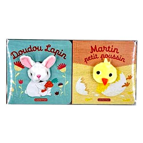 COFFRET DE PAQUES MARTIN POUSSIN + DOUDOU LAPIN