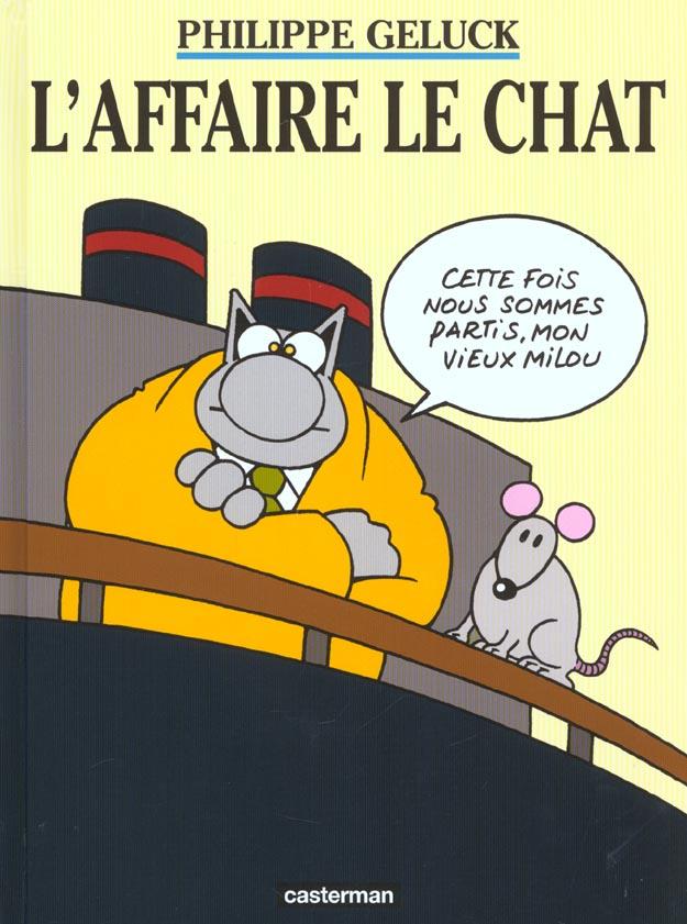 L' AFFAIRE LE CHAT - LES ALBUMS DU CHAT - T11
