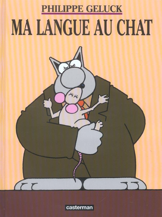 LE CHAT T6 MA LANGUE AU CHAT