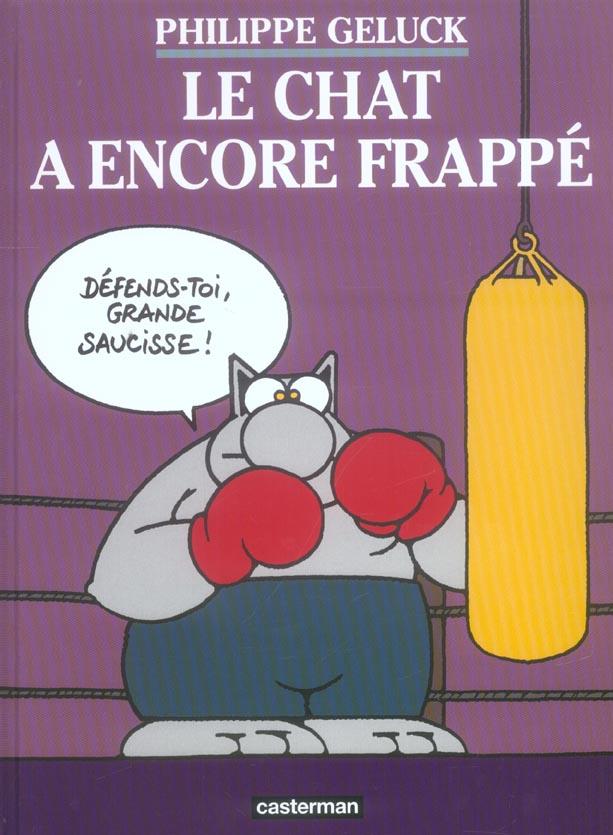 LE CHAT A ENCORE FRAPPE - LES ALBUMS DU CHAT - T13