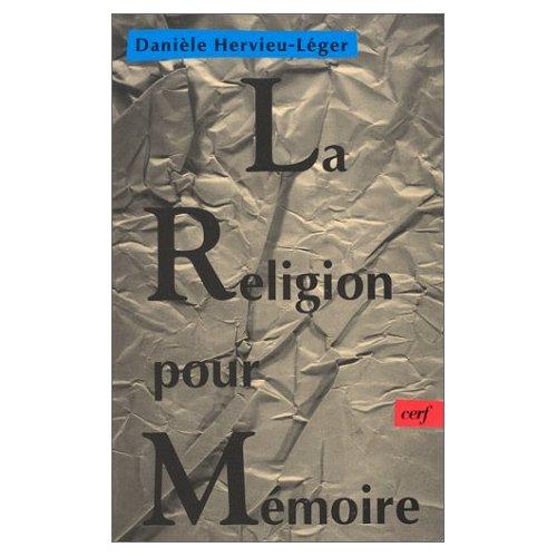 LA RELIGION POUR MEMOIRE