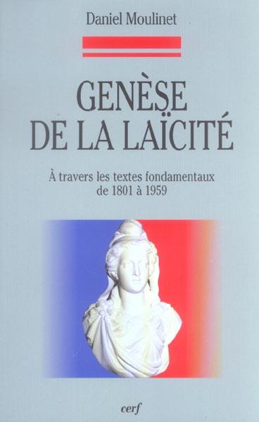 GENESE DE LA LAICITE
