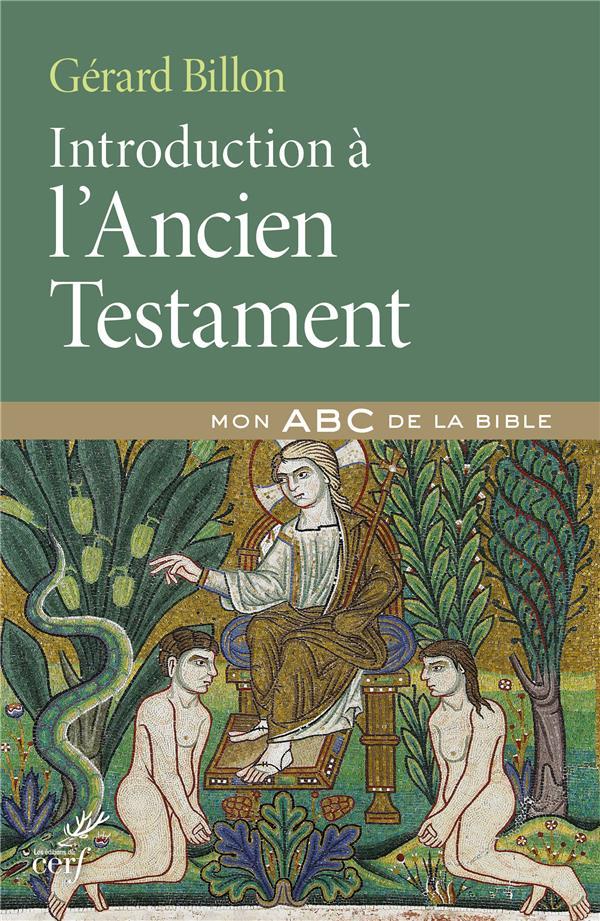 INTRODUCTION DE L'ANCIEN TESTAMENT