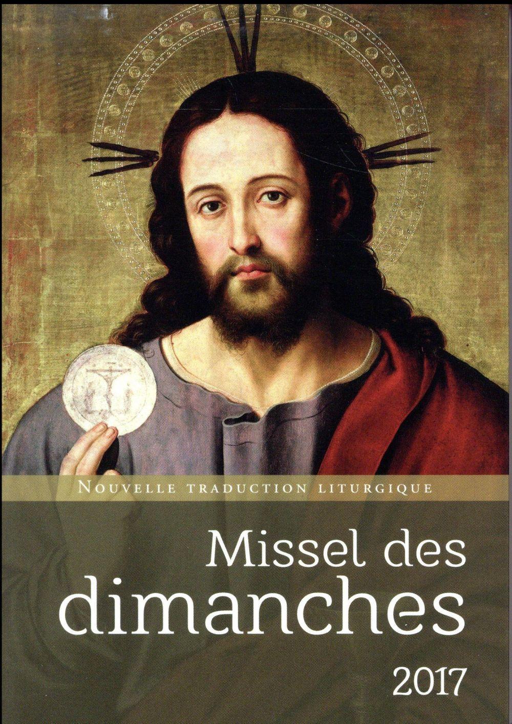MISSEL DES DIMANCHES 2017