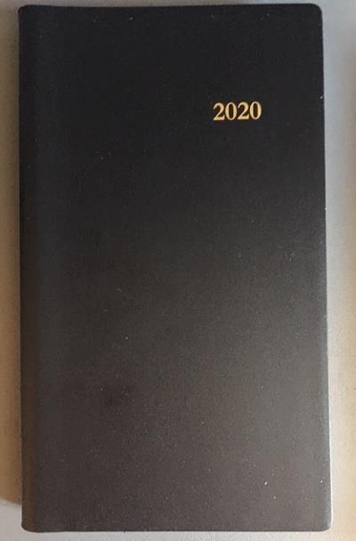 L'AGENDA DU CHRETIEN 2020. NOIR