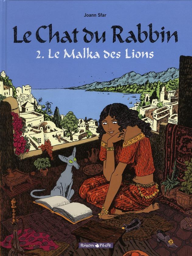 LE CHAT DU RABBIN  - TOME 2 - MALKA DES LIONS (LE)