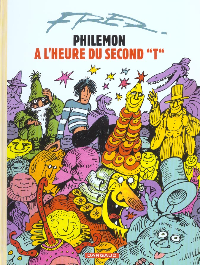 "L'HEURE DU SECOND ""T"" - PHILEMON - T8"
