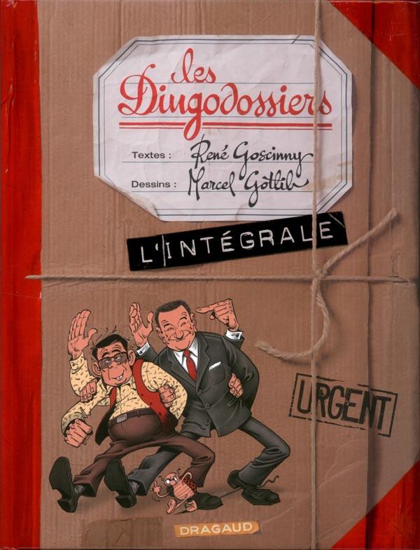 GOTLIB (INTEGRALE) INTEGRALE DINGODOSSIERS T1/2/3