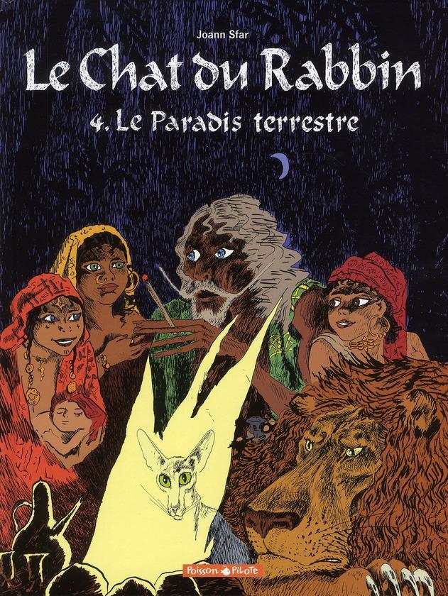 LE CHAT DU RABBIN  - TOME 4 - PARADIS TERRESTRE (LE)