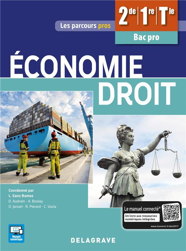 ECONOMIE DROIT 2E 1E TLE BAC PRO ELEVE 2017
