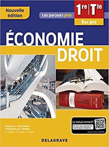 ECONOMIE DROIT 1RE TLE BAC PRO (2018) - POCHETTE ELEVE 3ED
