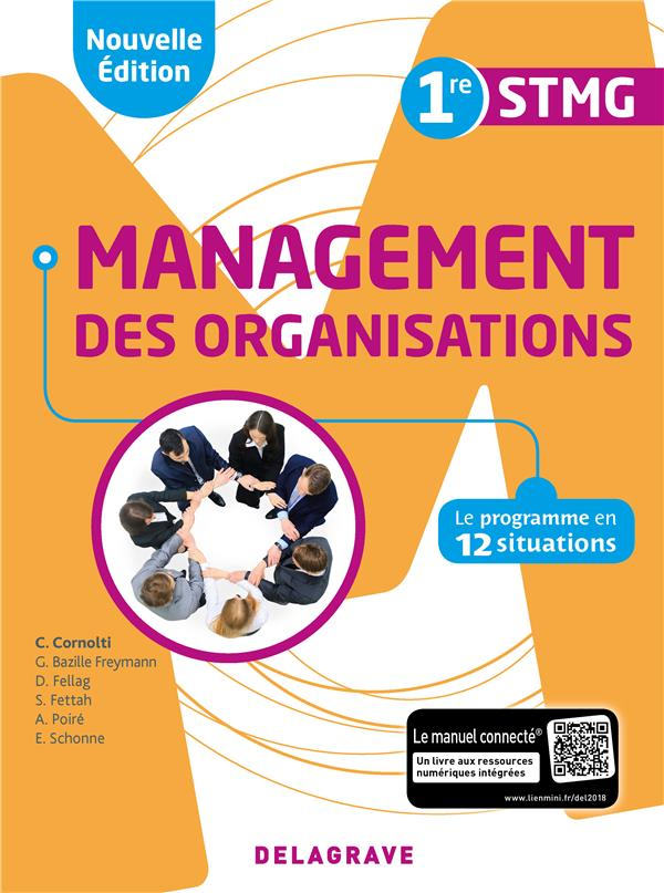MANAGEMENT DES ORGANISATIONS 1RE STMG 2018 POCHETTE ELEVE 2ED