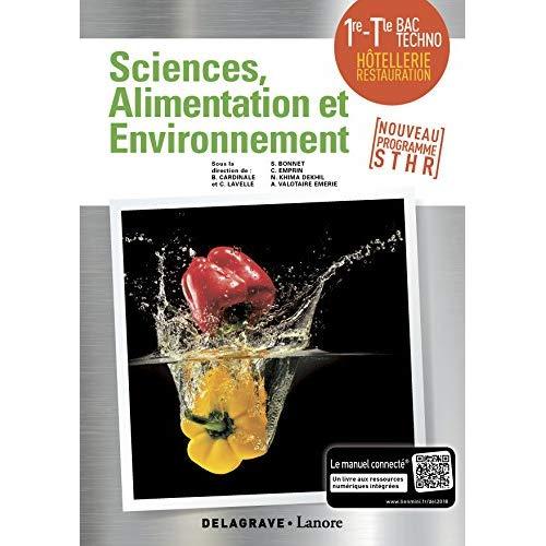 ENSEIGNEMENT SCIENTIFIQUE ALIMENTATION-ENVIRONNEMENT 1RE TLE STHR (2018)
